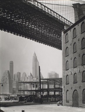 Brooklyn Bridge  New York Berenice Abbott