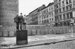 Berlin Wall by Henri Cartier-Bresson