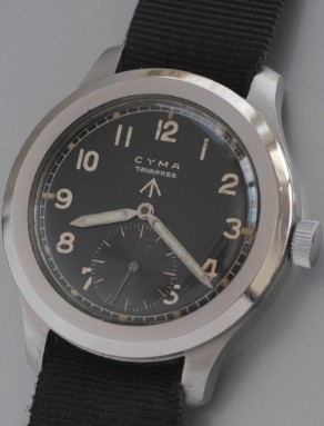 CYMA TAVANNES military watch
