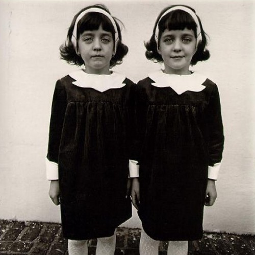 Diane Arbus Twins Photo - Inspired Director Stanley Kubrick