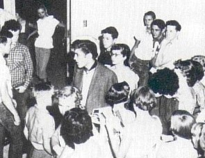 Buddy Holly and Elvis in Lubbock Texas 1955