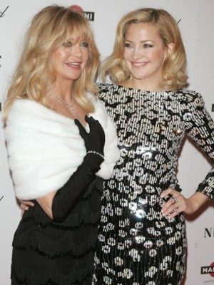 Goldie Hawn Age 66 Daughter Kate Hudson Age 31