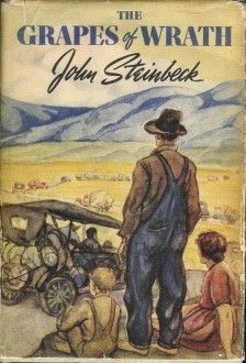 Grapes of Wrath First Edition Cover Art