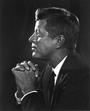 White House Portrait John Kennedy
