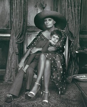 Famous Karsh Portrait - Sophia Loren and Son