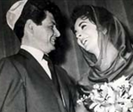 Liz Taylor Convert Judiasm to Marry Eddie Fisher