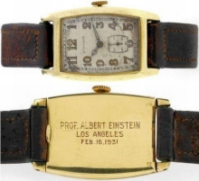 Vintage Longines Watch Owned by Albert Einstein