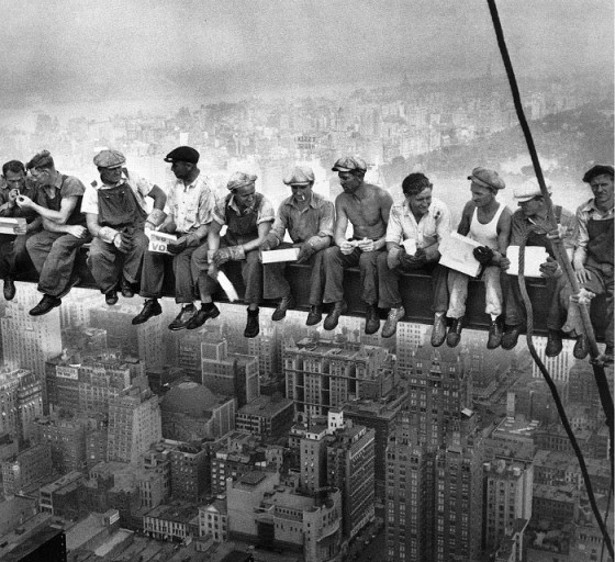 New York Skyscraper-1932 Lunch Break