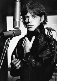 Mick Jagger portrait by Helmut Newton