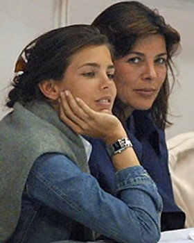 Princess Caroline Age 53 and Daughter Charoltte 24