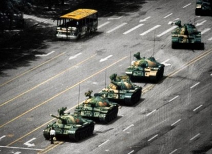 The Famous Tank Man