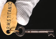 Door Key Retrieved from the Titanic