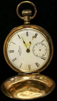 Titanic Watch - Pocket Watch from the Titanic
