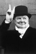 Famous Photo of Winston Churchill