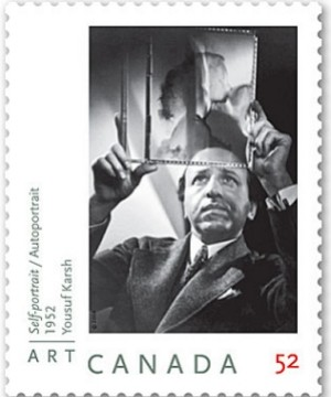 Yousuf Karsh - Canadian Stamp Honor - Postage Stamp