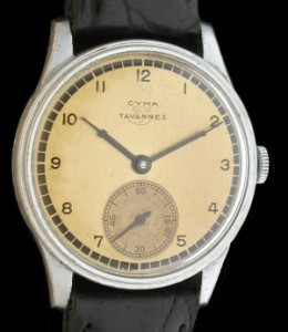 Cyma Tavannes Vitage Watch 1940s