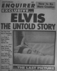 Famous Elvis Coffin  Photo