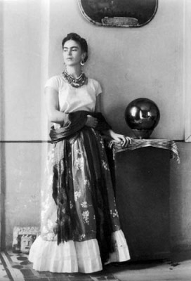 Frida Kahlo Surrealist Painter by Bravo