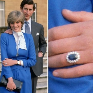 Princess Diana Diamondl Engagement Ring